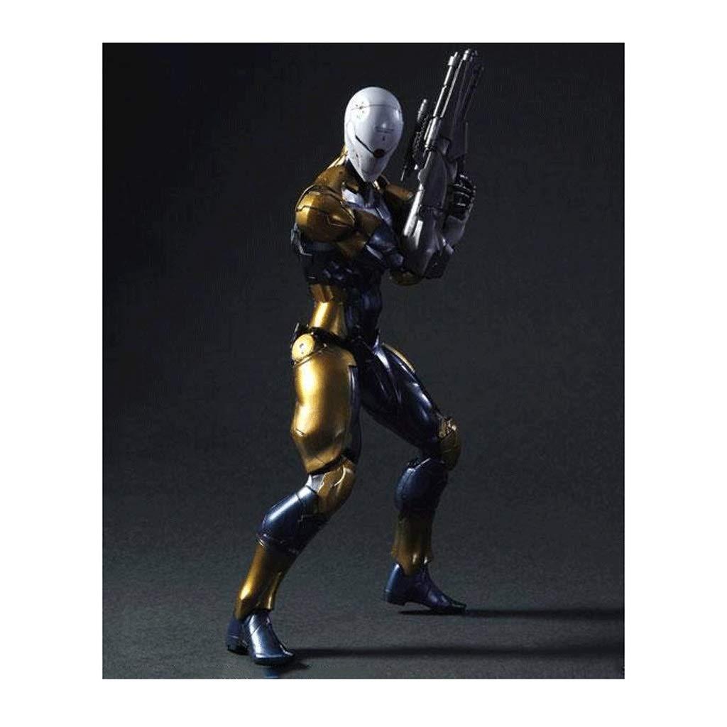 Yingjianjun Metal Gear Solid Cyborg Ninja Figura de acción ...