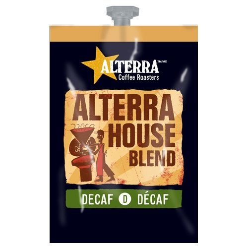 FLAVIA ALTERRA COFFEE, House Blend Decaf, 20-Count Freshpacks (Pack of 1 Rail)
