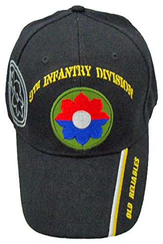 U.S. Army 9th Infantry Division Baseball Cap and BCAH Bumper Sticker