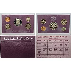 1990 S US Proof Set Superb Gem Uncirculated