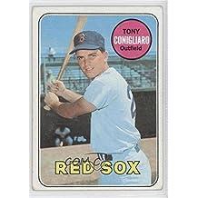Tony Conigliaro COMC REVIEWED Good to VG-EX (Baseball Card) 1969 Topps #330
