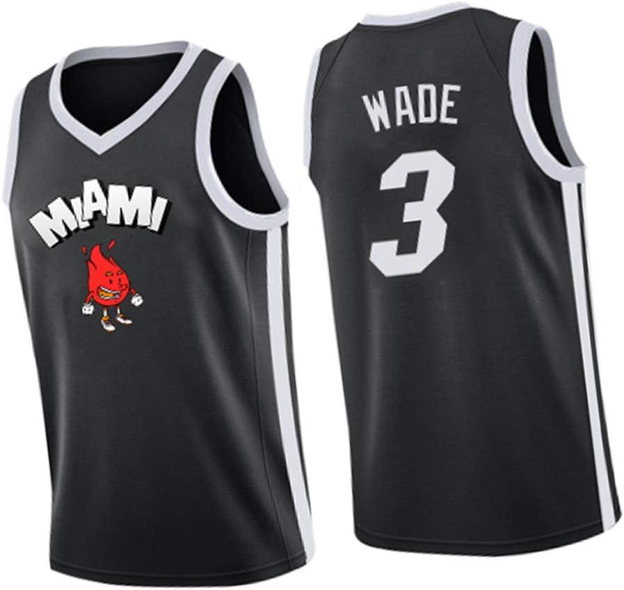 Camiseta de Baloncesto Dwyane Wade 3# Miami Heat, Chaleco ...