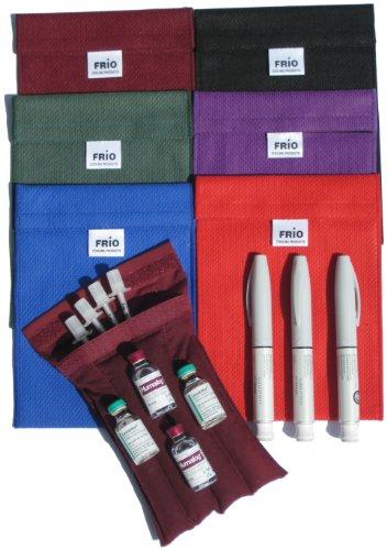 FRIO insuline refroidissement Portefeuille Large - Blue - 1130LGBL