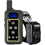 GROOVYPETS 2000 YD Remote Dog Training Shock Collar Hunting Pet Trainer Correction Collar Waterproof Rechargeable for Medium,Large Dog