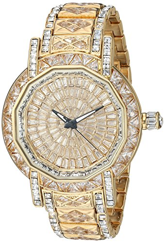 Adee Kaye Men's AK8195-MGG Marvel-X Collection Analog Display Swiss Quartz Gold Watch