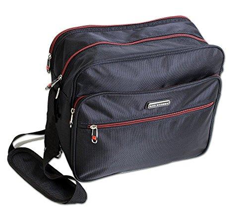 trabajo Schwarz Querformat oficina la negro Bag bolsa para Street para bolso el pvqPwBPE