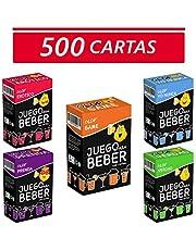 Glop 500 Cartas - Juegos para Beber - Juegos de Cartas para Fiestas - Juegos de Mesa - Regalos Originales