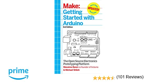 Amazon electrical electronics books electronics getting started with arduino the open source electronics prototyping platform make fandeluxe Choice Image