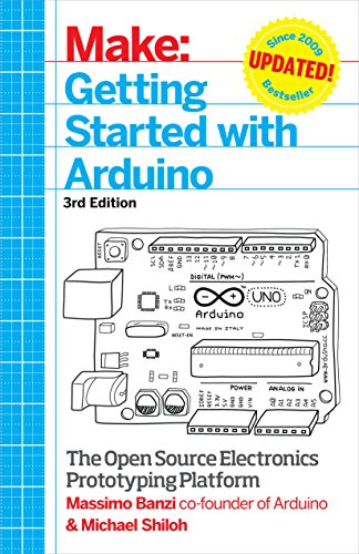 Getting Started with Arduino: The Open Source Electronics Prototyping Platform (Make) cover