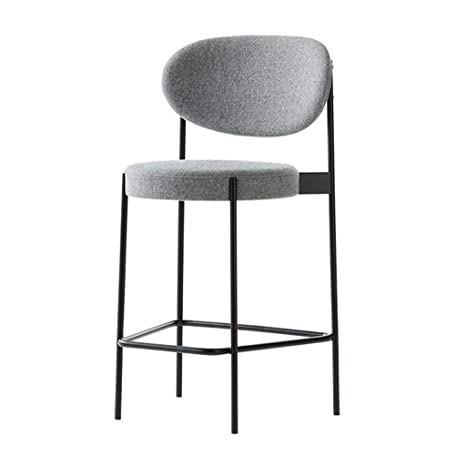 Taburetes De Bar Grises IKEA Nordic Simple Metal Sillas De ...