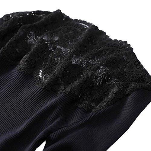 Caldo Nobile Basa Femminile Autunno Black Xgmsd Camicia Shirt Sping inverno Che zqFcqwAT7W