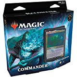 Magic The Gathering: Kaldheim| Commander Deck | Phantom Premonition | 99 cards | 1 Foil Commander | 10 Tokens Dupla Face | 1