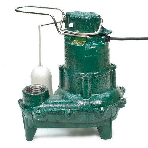 Model M264 Waste-Mate Automatic Cast Iron Sewage Pump - 115 V, 0.4 HP