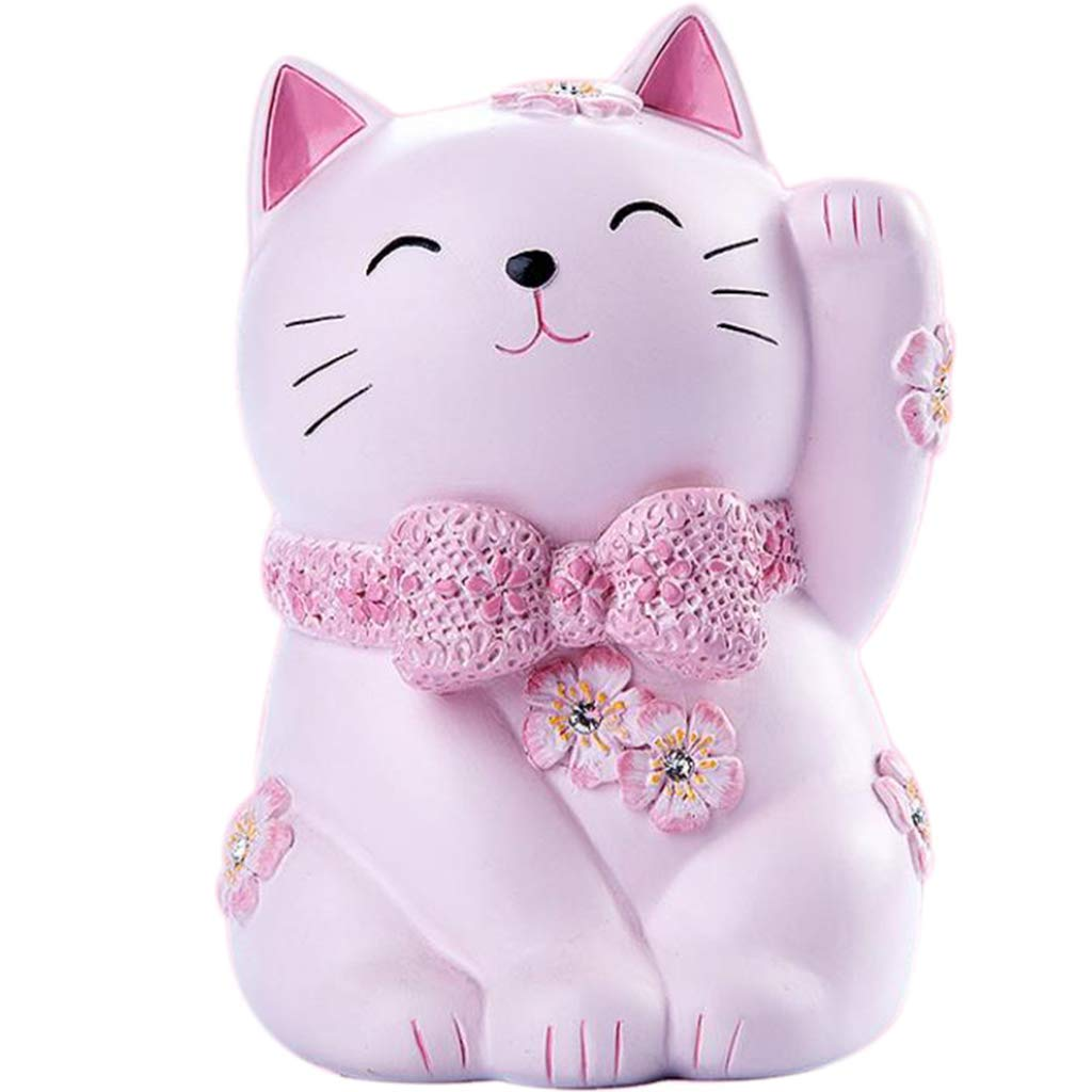 LAL Lucky Cat Piggy Bank, Retro Piggy Bank, Adult Child Piggy Bank, Birthday Gift, Suitable for Children to, Send Friends, Home Decoration, Large Capacity by LAL