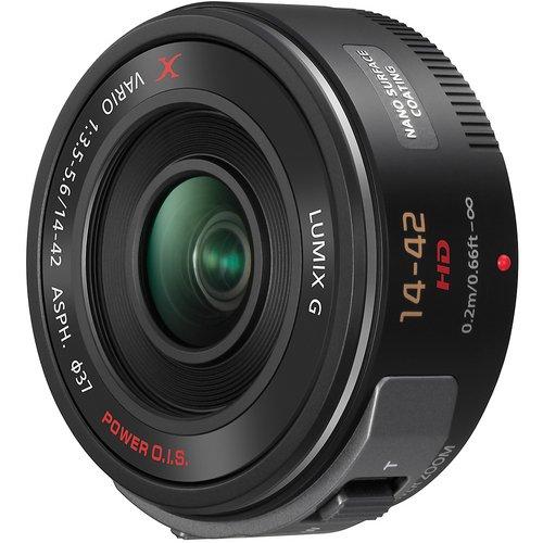 PANASONIC LUMIX G X Vario Power Zoom Lens, 14-42MM, F3.5-5.6 ASPH, MIRRORLESS Micro Four Thirds, Power O.I.S, H-PS14042K (USA Black)