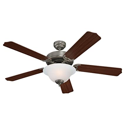 Sea gull lighting 15030ble 962 ceiling fan with frosted glass shades sea gull lighting 15030ble 962 ceiling fan with frosted glass shades brushed nickel finish aloadofball Images