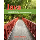 Java : Introduction to Problem Solving and Programming, Savitch and Savitch, Walter, 0132774151