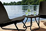 Keter Rio 3 Piece Resin Wicker Patio Furniture