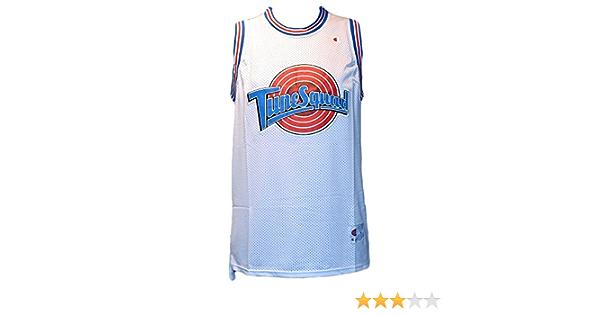 Camiseta de baloncesto de la NBA – Michael Jordan Tune Squad Space Jam – Talla L: Amazon.es: Coche y moto