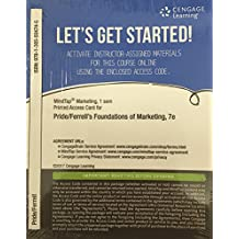 MindTap Marketing, 1 term (6 months) Printed Access Card for Pride/Ferrell's Foundations of Marketing, 7th (MindTap Course List)