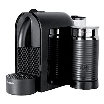 Magimix M 130 - U - Cafetera (Independiente, Totalmente automática, Pod coffee machine, Coffee capsule, Negro, Café expreso): Amazon.es: Hogar
