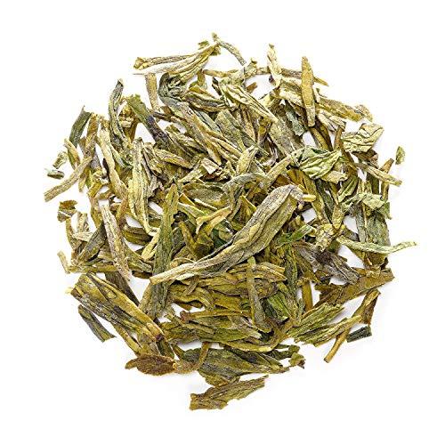 Dragon Well Green Tea - Longjing Loose Leaf Tea From China - Xihu Long Jing Chinese Tea - Lung Ching 100g 3.5 - Well Ching Dragon Green Tea
