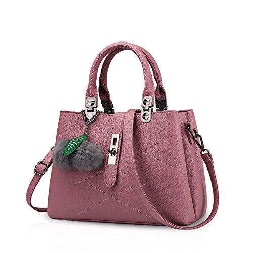 Donne Shopper Borsa Ladies Packet Ruiren Le Handbag Femminile Womens Shoulder Per Borse Bag Marrone Rosso Messenger H5xqw4FOq