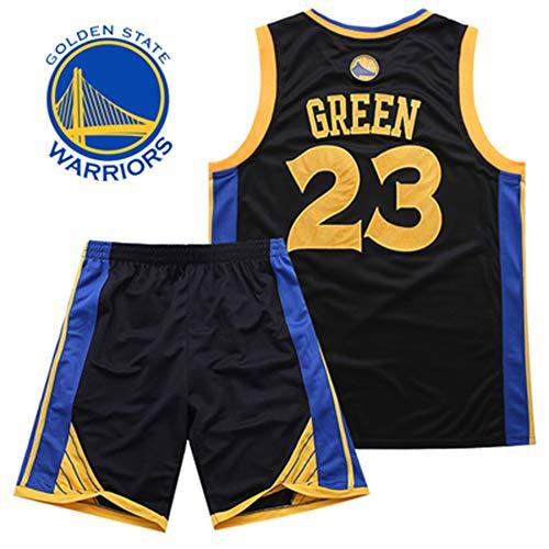 Camiseta De NBA Fan Jersey Camiseta De Baloncesto Hombres Bordados Golden State Warriors Kevin Durant Stephen Curry Traje De Competición Ropa Deportiva De ...