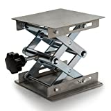 NKTM Lab Stand Lifting Platform, Stainless Steel