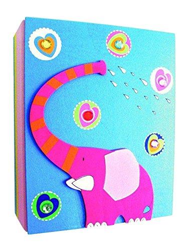 Álbum de Fotos Álbum de niños Album 3D Elefante de Madera Kinderland Woodyland 90720a
