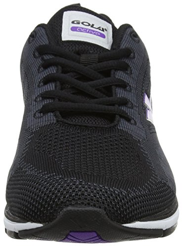 Purple Charcoal Laufschuhe Fortuna Gola Damen Grey Grau qYOA8wx