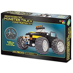 remote control monster truck construction kit build a full function rc car toy toys. Black Bedroom Furniture Sets. Home Design Ideas