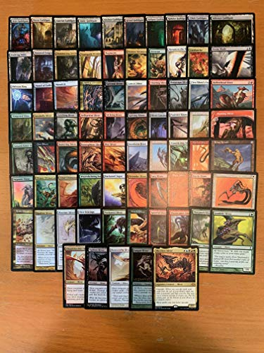 Sliver Commander Deck - Custom Built - Elite - MTG - EDH - 100 Card (Sliver Deck Magic Gathering)