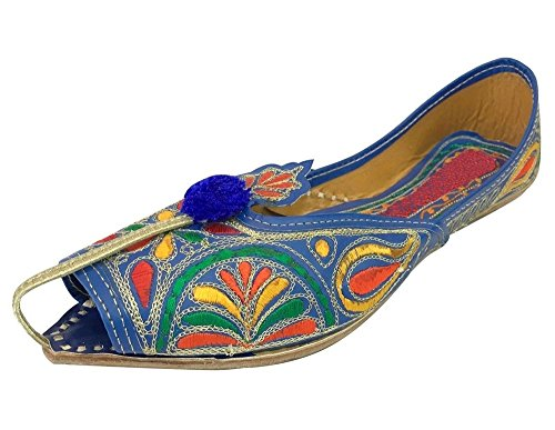Step Women n Style Women Step Traditional Design Sandle Multi Punjabi US Indian Mojari Khussa Jutti B01FC5BDYY Shoes 4fed26