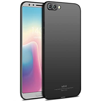 check out 58e7a 3843e Huawei Honor View 10 / Honor V10 Case, MSVII® Ultra Slim Case Cover And  Screen Protector For Huawei Honor V10 - Black JY00412