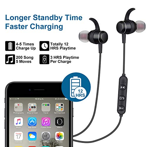 Bluetooth-Headphones-Wireless-Headphones-Magnetic-Wireless-Earbuds-with-HD-Stereo-in-Ear-Sweatproof-Bluetooth-Earbuds-Wireless-Bluetooth-Headphones-with-Mic-and-Volume-Control-for-Sport-Gym-Workout