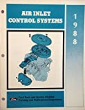 1988 Ford Air Inlet Control System Manual