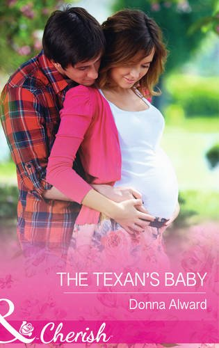book cover of The Texan\'s Baby