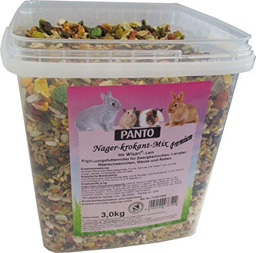 Panto Alimento para roedores Mezcla Premium de 3 kg, 1 Unidad (1 x 3 kg)