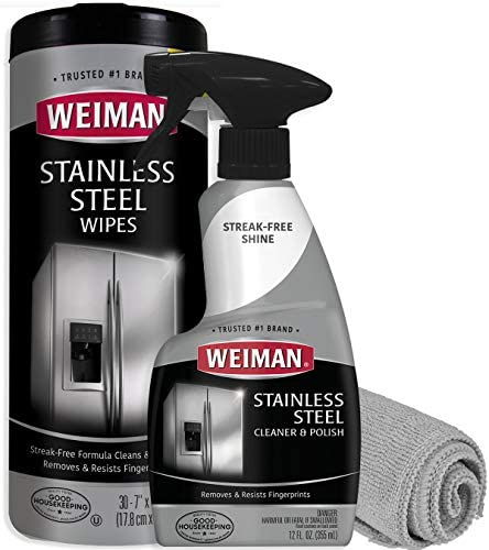 Weiman Stainless Steel Cleaner Refrigerators product image