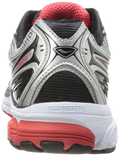 13 Red red Men's black Us Shoe W Silver Omni Running 5 silver Saucony Black 11 YqSExUwOOn