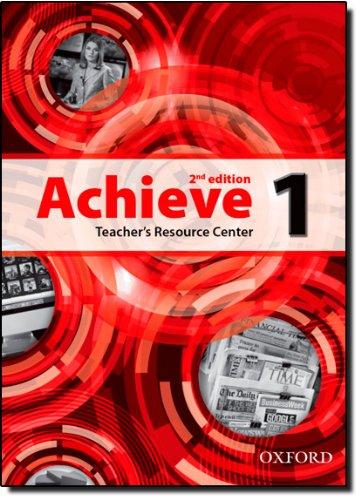 Achieve 1 Teachers Resource Center 2Ed