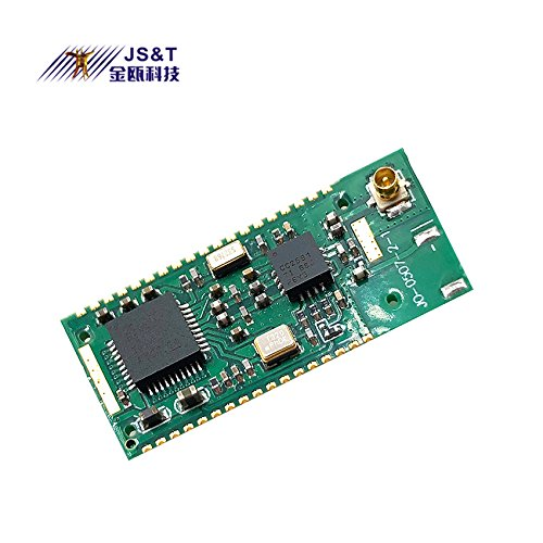 Jinou BLE 4.0 Bluetooth Module with External Antenna for Remote Data Transmission 200M(656ft) Class 1 TI CC2541 by Jinou