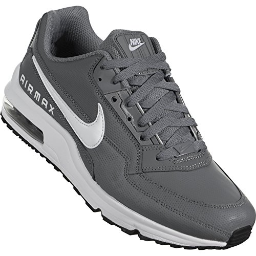 purchase cheap d4a0b 807e7 Nike Men s Air Max LTD 3 Cool Grey White Black Running Shoe 10 - Import It  All