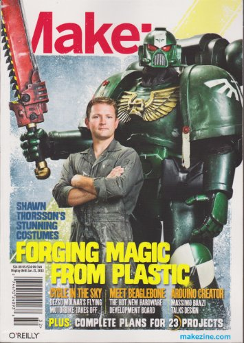 Make: Magazine Number 32 October 2012 (Forging Magic From Plastic)