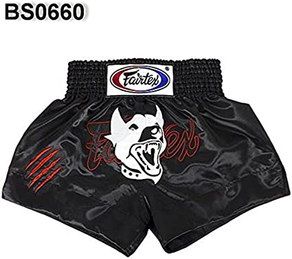 "Fairtex /""CRAZY DOG/"" Muay Thai Kickboxing Shorts"