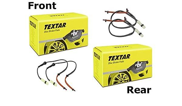 Amazon.com: Porsche 993 TURBO Brake Pad KIT Front+Rear TEXTAR Pads+Sensors: Automotive