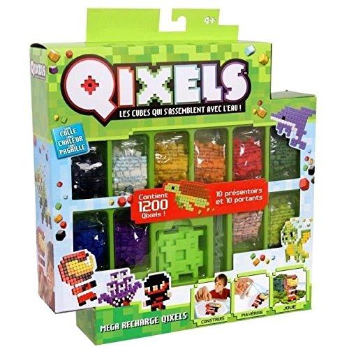 Kanaï Kids - KK87071 - Mega Recharges Qixels - 1200 Cubes - Saison 2 - Multicolore