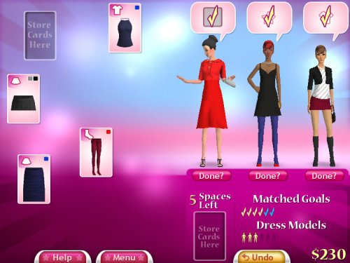 Fashion Solitaire - Free Online Fashion 20