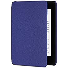 All-New Kindle Paperwhite Leather Cover (10th Generation-2018), Indigo Purple